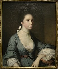 Portrait of Isabella Carr, Later the Countess of Erroll