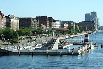 Havneparken - Image: Islandsbrygge waterfront