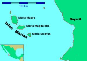 Islas Marías - Image: Islas Marias Nayarit