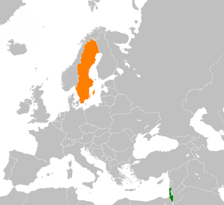 Israel–Sweden relations Diplomatic relations between the State of Israel and the Kingdom of Sweden