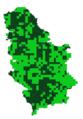 Issoria lathonia mapa rasprostranjenja Srbija.png