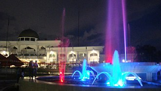 Sultan Kudarat - Sultan Kudarat Provincial Capitol in Isulan at night