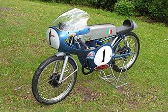 Bill Ivy - Itom 50cc racing motorcycle