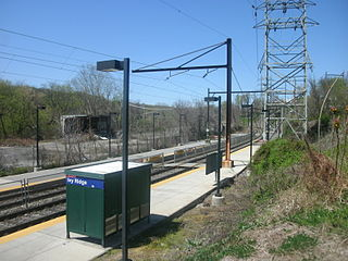 Ivy Ridge station SEPTA Regional Rail station