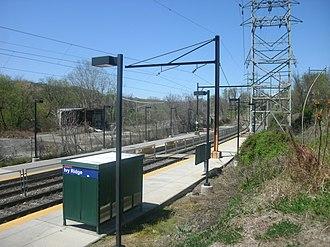 Ivy Ridge station - Ivy Ridge station in April 2012