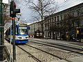Józefa Dietla - EU8N, new Stradom tram stop.jpg