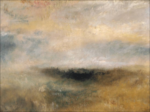 Sunrise with Sea Monsters - Image: JMW Turner Seascape with Storm Coming On 1840