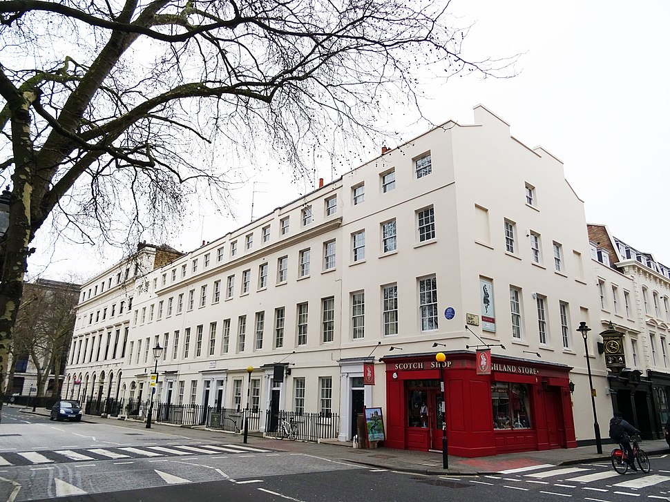 JOHN NASH - 66 Great Russell Street Bloomsbury London WC1B 3BN