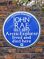 JOHN RAE 1813-1893 Arctic Explorer lived and died here.jpg