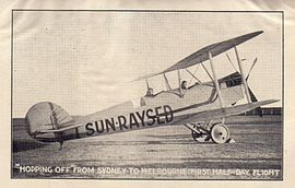 "Jack De Garis promoting ""Sun-Raysed"", which later became ""Sunraysia"".jpg"