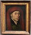 Jacques daret (attr.), ritratto d'uomo con chaperon rosso (tournai).JPG