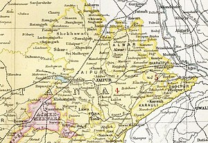 Bharatpur State - Bharatpur State in the Imperial Gazetteer of India