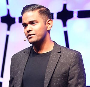 Pulkit Jaiswal - Jaiswal at the 2016 MIT Technology Review Conference in Singapore