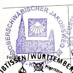Jakobsweg Franken Karte.Oberschwäbischer Jakobsweg Wikipedia