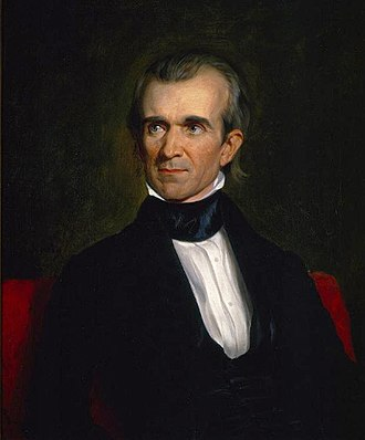 1844 United States presidential election in North Carolina - Image: James Knox Polk