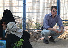 James Reynolds in Gaza Strip, 2005.jpg