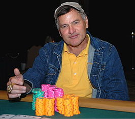 James Richburg op de WSOP 2007.