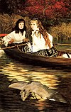 James Tissot - On the Thames. A Heron.jpg