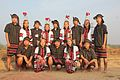 Jampui youths in traditional attire. A dance troupe.jpg