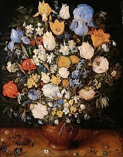 Jan Bruegel (I) - Bouquet of Flowers in a Ceramic Vase.jpg