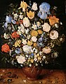 Jan Bruegel (I) - Bouquet of Flowers in a Ceramic Vase.jpg