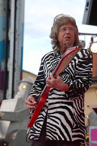 Janne Schaffer - Schaffer with the Electric Banana Band in 2008