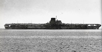 Aircraft carrier - The Japanese carrier Shinano was the biggest carrier in World War II, and the largest ship destroyed by a submarine.