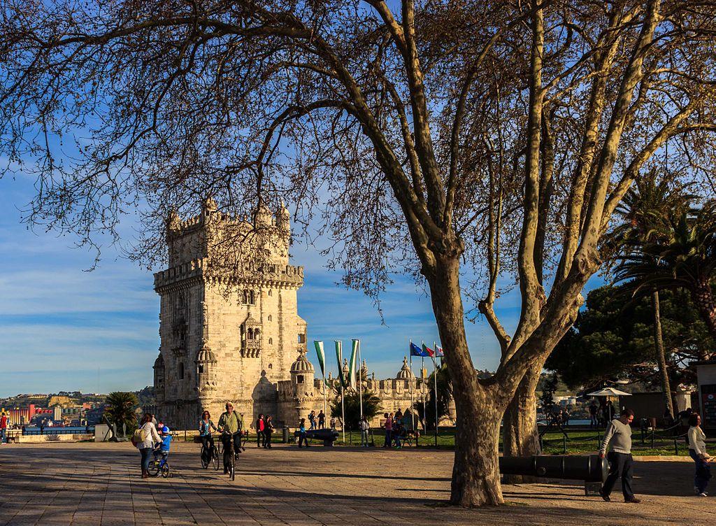 Jardines de la Torre de Belém