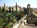 Jardins et bassins de l'Alcazar mudejar de Cordoue 2.jpg