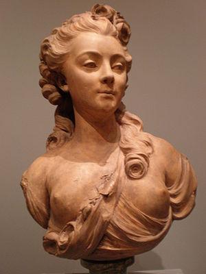 Jean-Jacques Caffieri - Image: Jean Jacques Caffieri Portrait bust of a young woman CPLH 1927.211