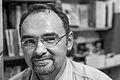 Jean-Philippe Jaworski en dédicace à la librairie Critic, Rennes, France (noir et blanc).jpg