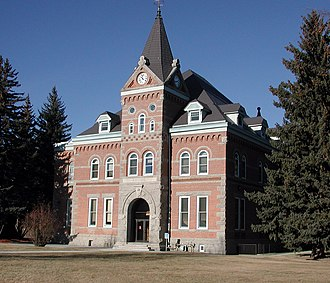 Boulder, Montana - Jefferson County Courthouse in Boulder