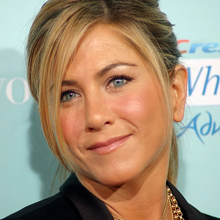 Aniston at the He's Just Not That into You premiere in 2009 JenniferAnistonFeb09.jpg