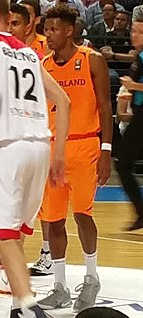 Jessey Voorn Dutch basketball player
