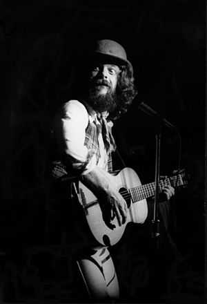 Ian Anderson - Anderson with Jethro Tull at London's Hammersmith Odeon, March 1978.