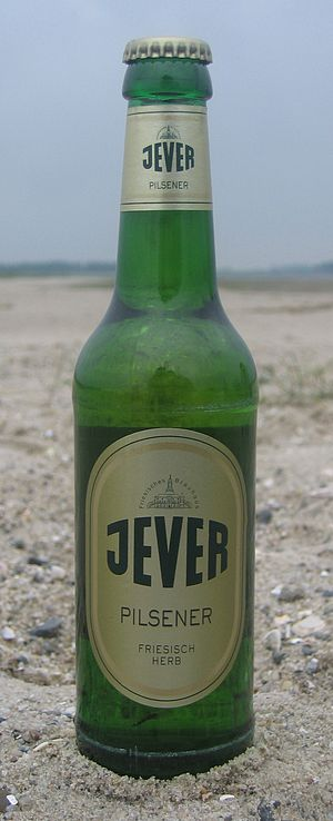 Jever (beer) - A bottle of Jever