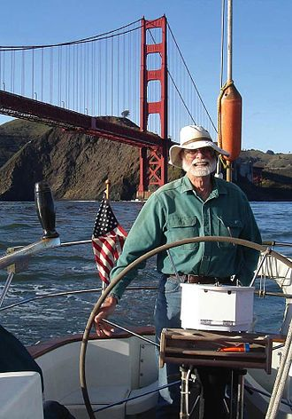 Jim Gray (computer scientist) - Jim Gray on his yacht in 2006