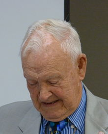 A photo of Jimmy Weldon in 2015