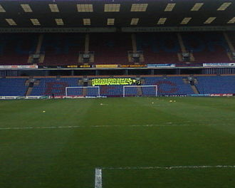 Turf Moor - Image: Jimmy Mc Ilroy stand zoomed