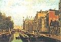 Johan Conrad Greive - Pijpenmarkt ( n.z. voorburgwal) - SA 699 - Amsterdam Museum.jpg