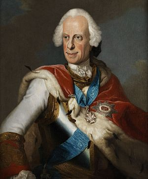 Louis VIII, Landgrave of Hesse-Darmstadt - Portrait of Louis VIII  by Johann Christian Fiedler