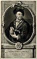 Johann Georg Gmelin. Mezzotint by J. J. Haid. Wellcome V0002277.jpg