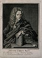 Johann Karl Rost. Line engraving by J. A. Delsenbach, 1716, Wellcome V0005103.jpg