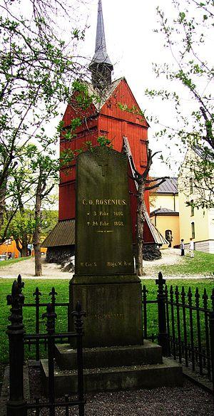 Carl Olof Rosenius - Grave of Carl Olof Rosenius in Stockholm