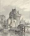 Johannes Bosboom - Gezicht op de Hoofdtoren te Hoorn.jpg
