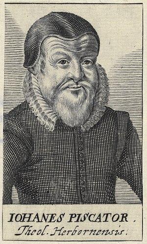 Johannes Piscator - Image: Johannes Piscator by Azelt