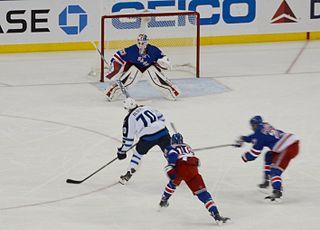 John Albert (ice hockey) American professional ice hockey forward
