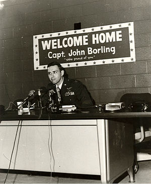 John L. Borling - John Borling after return to the US
