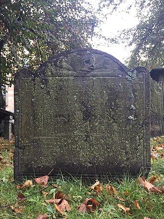 Attack at Mocodome - Image: John Connor, Old Burying Ground, Halifax, Nova Scotia