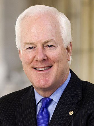 2008 United States Senate election in Texas - Image: John Cornyn official portrait, 2009 (cropped)